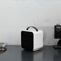 New style Mini negative Ion LED fan air humidifier portable handheld desk fans cooler air conditioner