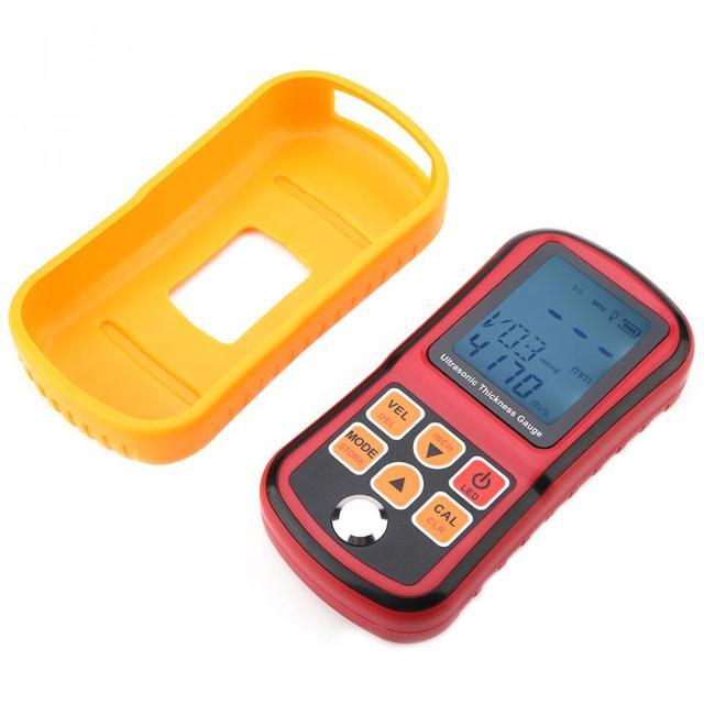 GM130 profesjonalny przyrząd do pomiaru grubości metalu cyfrowy ultradźwiękowy miernik grubości 1-300mm grubości stali tanie i dobre opinie VBESTLIFE Ultrasonic Thickness Gauge Digital Ultrasonic Thickness Gauge Thickness Gauge Tester Digital Thickness Tester