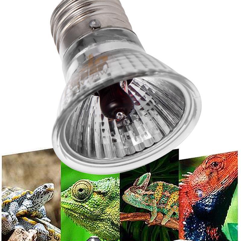 Reptile Turtle Snake Full Spectrum Heating Lamp UVA+UVB Sun Light