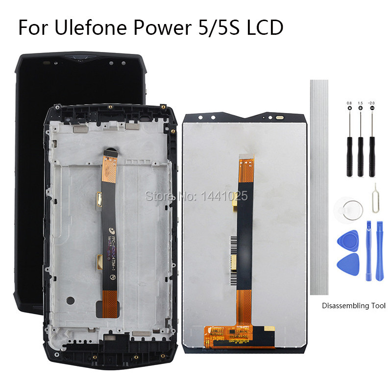 Display <font><b>Screen</b></font> Replace For <font><b>Ulefone</b></font> <font><b>Power</b></font> <font><b>5</b></font> LCD Touch <font><b>screen</b></font> 6.0 inch black for <font><b>Ulefone</b></font> <font><b>Power</b></font> 5s LCD Touch <font><b>screen</b></font> image