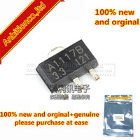 10pcs 100% new and orginal CJA1117B-3.3 A1117B-3.3 SOT89 1A LOW DROPOUT LINEAR REGULATOR in stock