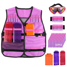 Women Upgrade Tactical Military Equipment  for Soft Elastic Storage Safety Tactical Equipment Kit for Nerf N-strike Elite orange mod work new version 5 kg spring modified kit for nerf n strike elite rampage blaster