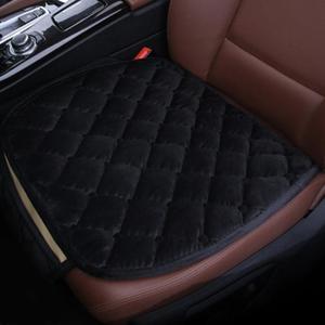 Image 3 - 1Pcs רכב כרית מושב חורף החלקה רכב כרית להתחמם יהלומי רכב מושב כיסוי אביזרי רכב מחצלת