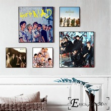 GOT7 Korea BTS Music Figures Poster Prints Oil Painting On Canvas Wall Art Murals Pictures For Living Room Decoration Home Decor