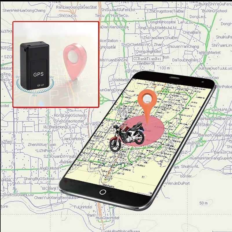 GF07 Mini Car GPS Trackers Sound Record GSM GPRS Vehicle Tracking Device  Online Tracking Software TCP/IP Real Time Locator