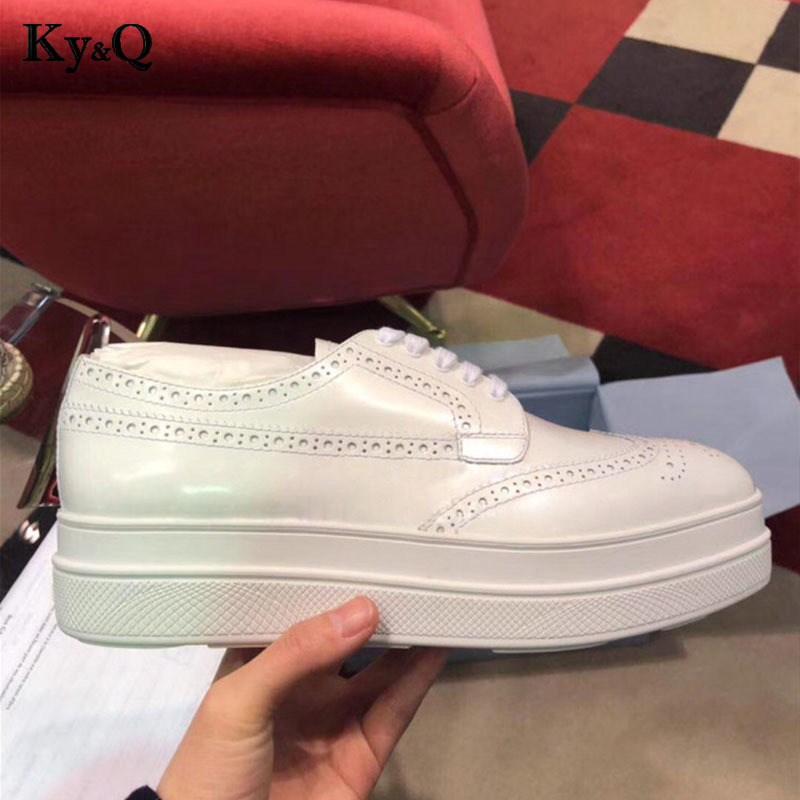 forme 2018 white Femme 5 Zapatillas Plate Cm Feminino Sneakers Chaussures Silver Croissant Mujer Augmenter Casual Femmes IqIaB