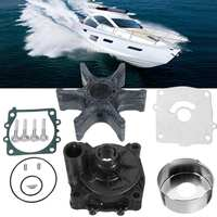 for Yamaha Marine Outboard Water Pump Impeller 61A W0078 A1 Housing Repair Kit Rubber+Metal 6 Blades Diameter 89mm Boat Parts
