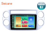 Seicane 9 Android 8,0/8,1 Bluetooth автомобиля радио для 2010 2011 2012 2013 2014 2015 VW Volkswagen Tiguan Wi Fi gps навигации системы