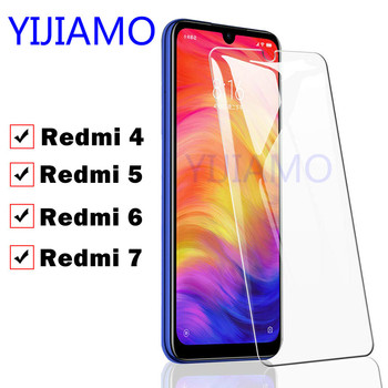 Protective Glass On For Xiaomi Redmi 7 Film Safety Glass Ksiomi Red Mi 7 6 4 Tempered Glas Xiaomei Xiomi Resmi Remi note 6 7pro image