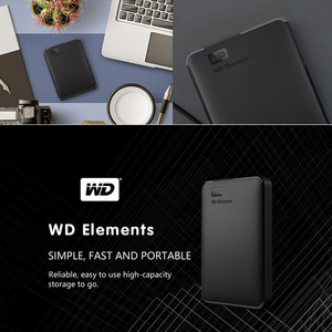 Image 3 - WD Elements Portable External Hard Drive Disk HD 1TB 2TB High capacity SATA USB 3.0 Storage Device Original for Computer Laptop