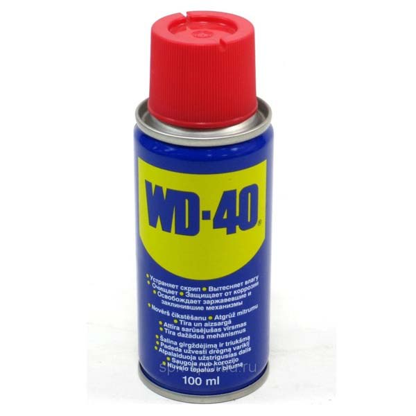 WD40 (100 ml) facility for thousands of applications (liquid key) цена