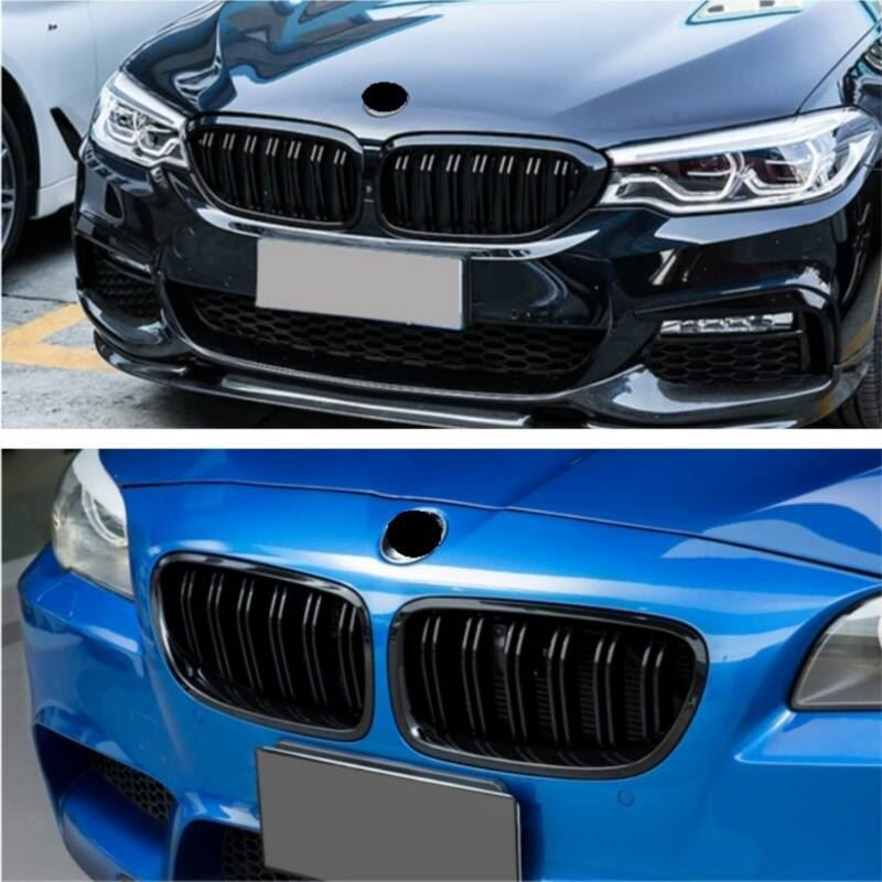 Modification Upgraded Decorative Styling Parts Car Accessories Racing Grills 08 09 10 11 12 13 14 15 16 17 18 FOR BMW X5 series in Racing Grills from Automobiles Motorcycles
