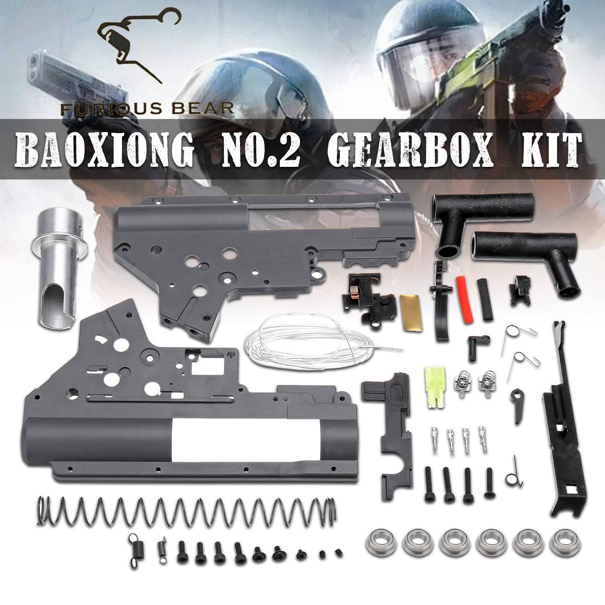 Nylon No 2 Boîte de Vitesses Kit Pour LDT416/TTM/556 pour Magpul Boule de Gel D'eau de Jeu Blasters Jouets Accessoires