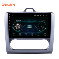Seicane Android 8.1 9 2Din Head Unit WiFi Car Radio Stereo GPS Tochscreen Multimedia Player For Ford Focus Exi AT 2004 2011