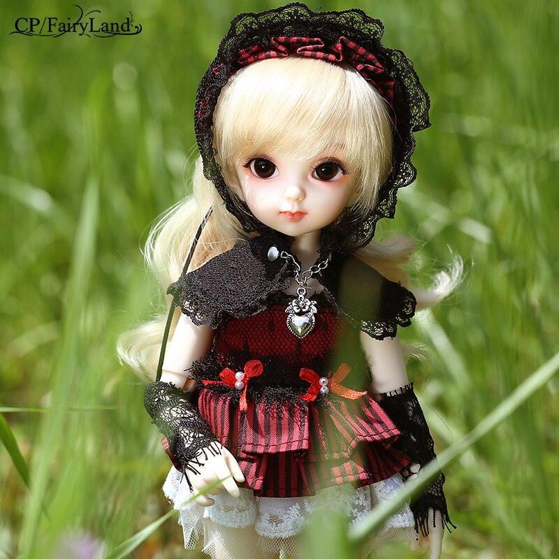 Image 4 - Fairyland Littlefee Sarang sd/bjd dolls 1/6 body model tsum girls  boys dolls toys shop dollhouse silicone resinDolls