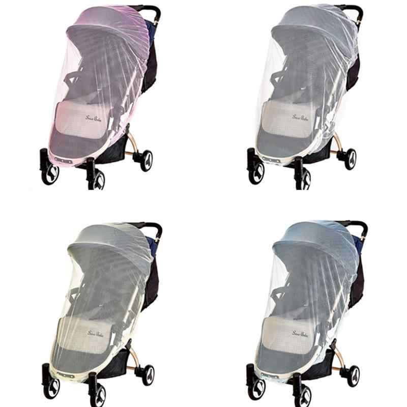 Baby Net Stroller Insect Net Pushchair Buggy Safe Protection Mesh Cover Mosquito Tent Baby Sleeping Tent Pink
