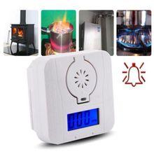 Угарный газ Co2 Предупреждение ющий датчик температуры ЖК-дисплей детектор угарного газа