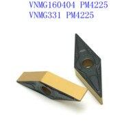 כלי קרביד כלי cnc VNMG160404 PM4225 החיצוני מפנה כלים קרביד הכנס מחרטה חותכת כלי VNMG 160,404 מפנה כנס חיתוך כלי CNC כולים (4)