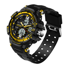 Sanda Waterproof MenS Watch Digital Led Sports