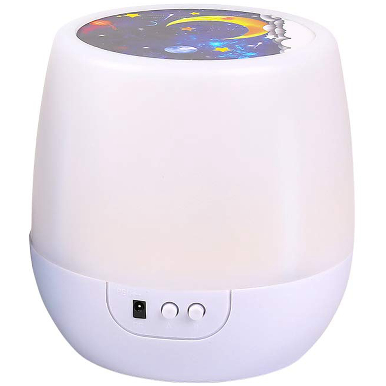 Fashion-Night Lights For Kids Universe 360 Rotating Star Projector Lamp Romantic Star Sea Ocean Birthday Light Lamp For Kids B