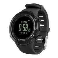 Sports Watch Altimeter Barometer Thermometer Compass Heart Rate Monitor Pedometer Digital Running Climbing Smart Watch