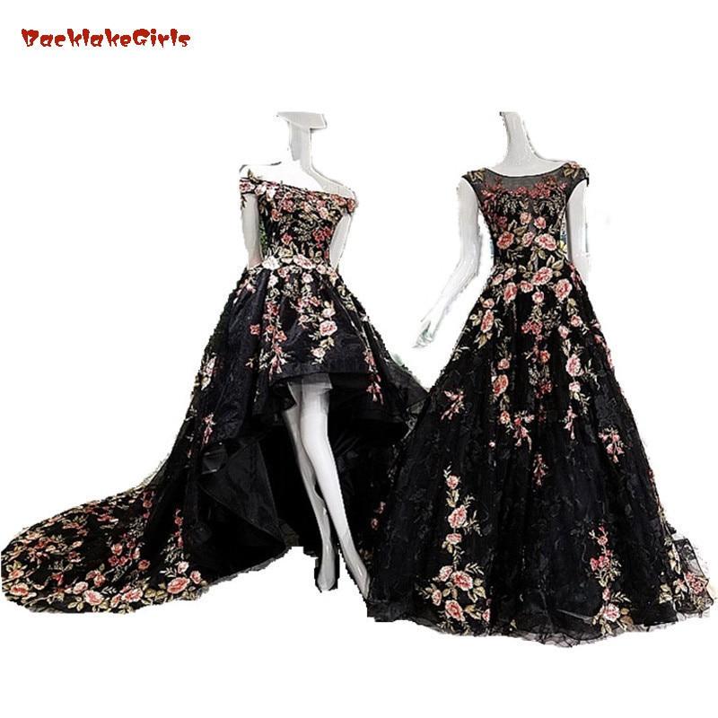 Black Lace Wedding Gowns: Aliexpress.com : Buy Vestido De Novia 2017 Black