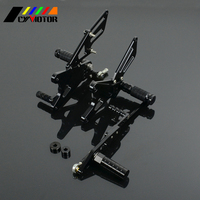 Motorcycle CNC Adjustable Foot Pegs Footpeg For YAMAHA YZF R1 YZFR1 YZF R1 2009 2010 2011 2012 2013 2014 2015 09 10 11 12 13 15