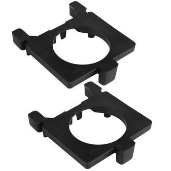 1 para H7 LED reflektor samochodowy Adapter podstawa żarówki adaptery gniazda posiadacze dla Ford Focus MK2 Mondeo MK4 reflektor samochodowy stojak do montażu tanie i dobre opinie Światła robocze CN (pochodzenie) 4 1 cm LED Headlight Bulb Base Adapters other 3 4 cm 0 3 cm
