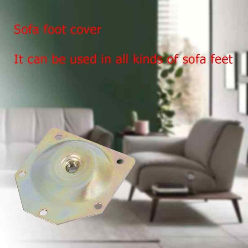 Шт. 10 шт. шкаф диван ноги поворачивающаяся мебель комплектующие оборудование стол нога Монтажная пластина диван ноги аксессуары