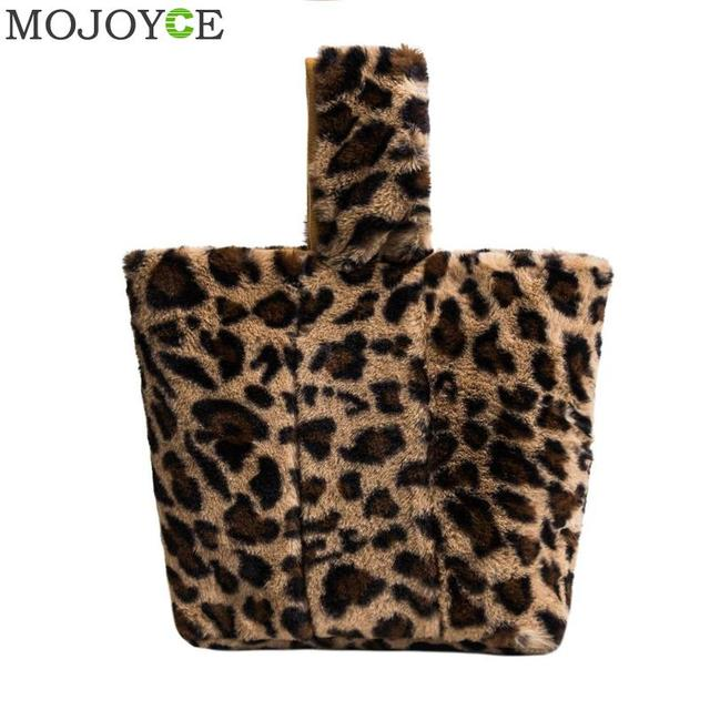 Women Day Clutches Leopard Print Handbag Casual Girls Sling Bag for Girls  Fashion Shoulder Bucket Bags 1a57fa0b2bd35