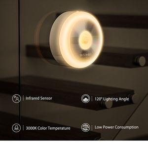 Image 2 - BlitzWolf BW LT15 Night Lights LED Motion PIR Infrared Sensor Night Light 3000K Color Temperature 120 Degree Lighting Angle