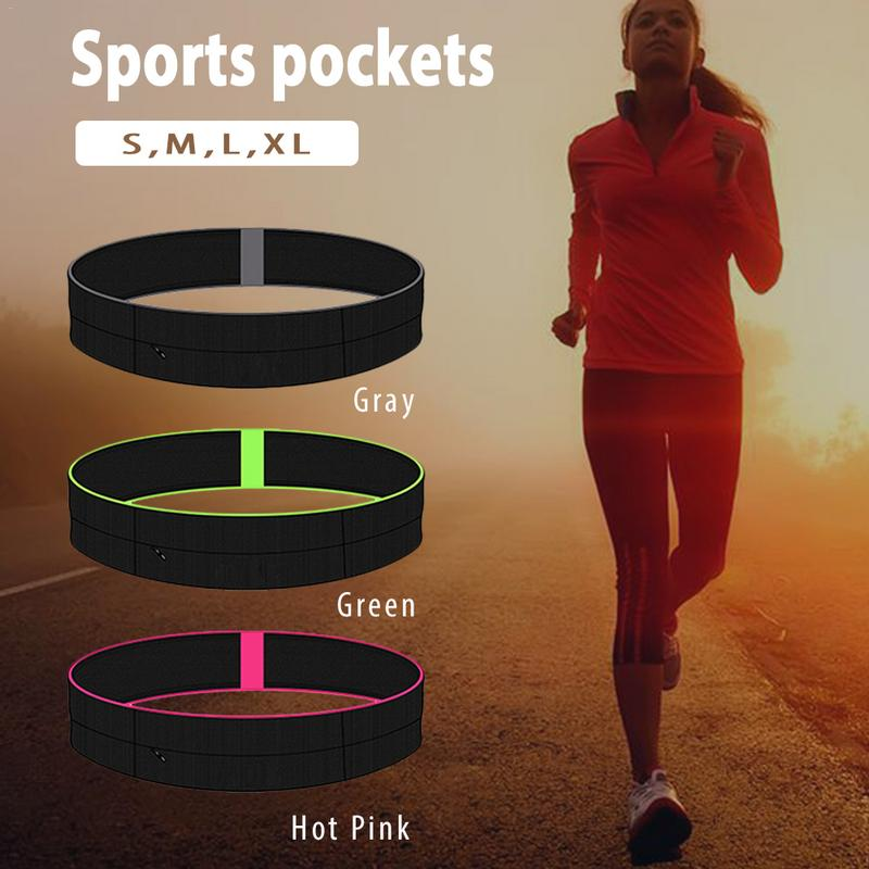 Cintura de deportes Fanny Pack elástico Mini corriendo bolsillo bolso al  aire libre elástica deporte Yoga Fitness ajuste cinturón de dinero bolsas  bolsa bef39c400629b