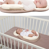 1PC Newborn Babies Protection Pillow Portable Infant Lounger Baby Sleeping Pad with Nursing Pillows
