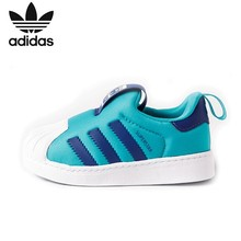 ADIDAS Superstar Original Kids Shoes Lightweight Running Anti-slippery Sports Sneaker #B75613