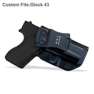 Image 5 - IWB/OWB ยุทธวิธี KYDEX ปืน HOLSTER Glock 19 Glock 17 25 26 27 28 31 32 33 43 ภายในปกปิดพกพาปืนพกอุปกรณ์เสริมกระเป๋า