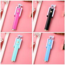 New Portable Self Selfie Stick Handheld Monopod+Bluetooth Shutter Remote Controller Clip Holder For IPhone/Android Samsung HTC стоимость