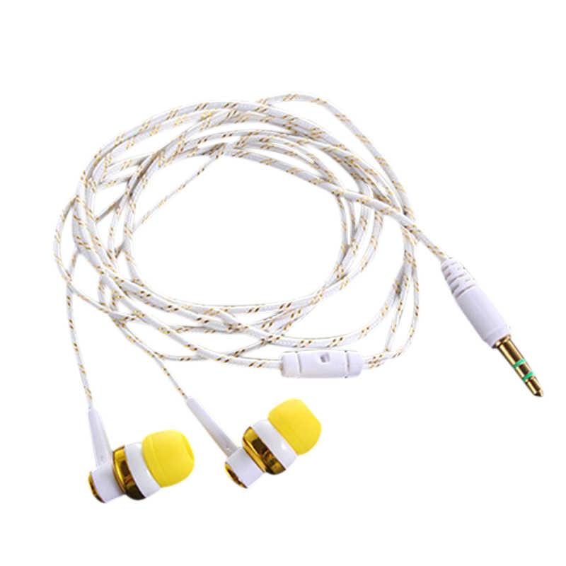 H-168 3.5mm in-ear Áo ngực có dây loa siêu trầm Tai nghe nhét tai cách nhiệt thể thao Tai nghe nhạc (Đỏ)