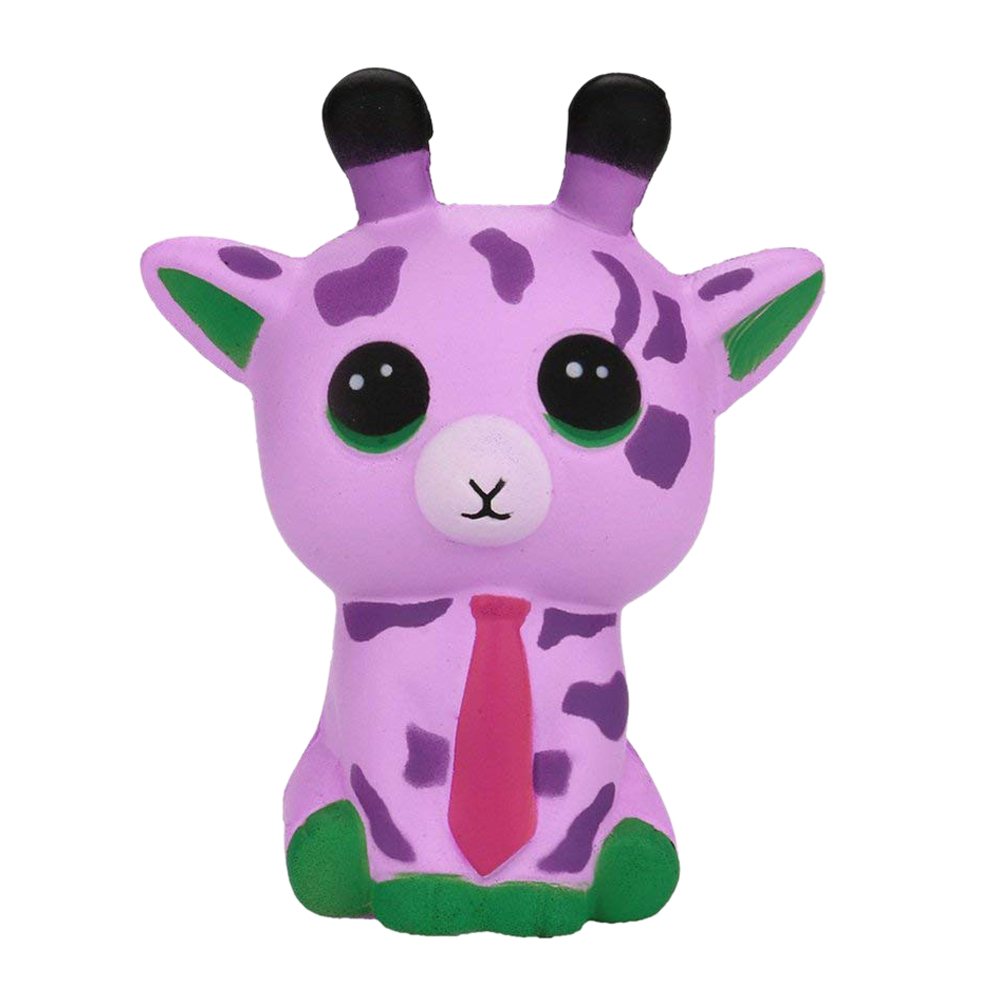 Squishy Deer, Jumbo Squeeze Spotted Deer Cream Bread Scented Slow Rising Stress Relief Toys Phone Charm Gifts For Kids And Adu