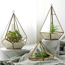 Nordic Jewelry Storage Box Micro Landscape Phnom Penh Geometric Glass Flower Room Creative Minimalist Modern