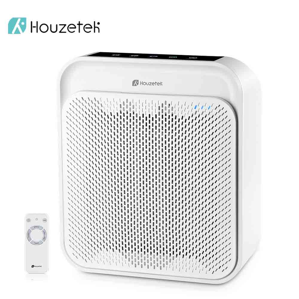 Houzetek Gl K18 Air Purifier Led Display Voice Remote Control 3 Sd Ful Hepa Filter Purifying Home With Child Lock In Purifiers From