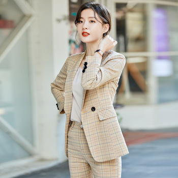 Small suit jacket female spring and autumn casual ladies fashion temperament 2020 new winter professional