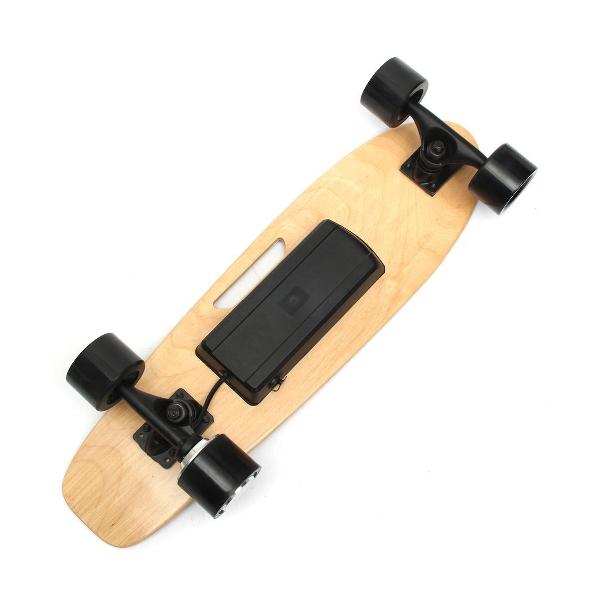 Skateboard électrique Quatre roues Longboard planche de skate Érable Pont Sans Fil À Distance Controll Pour Enfants Adultes - 5