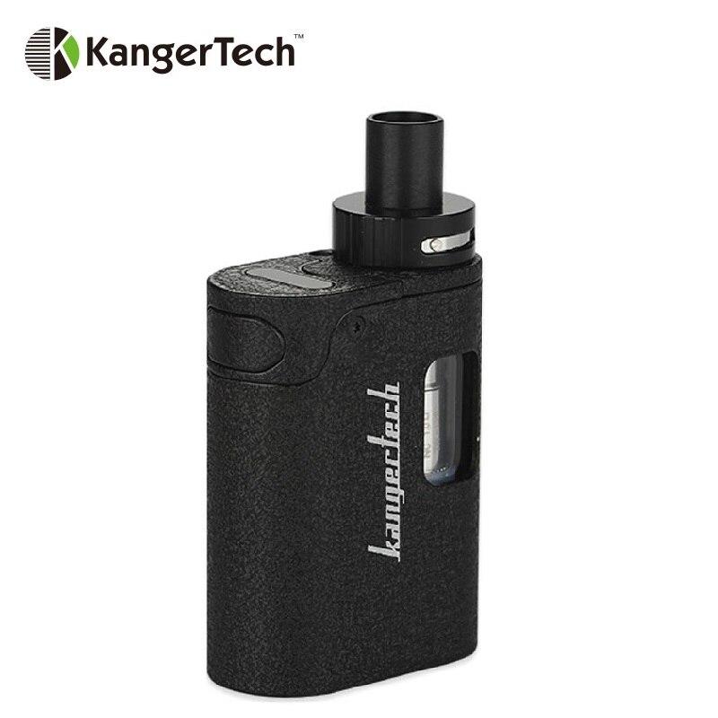 Mini Kit de démarrage d'origine Kangertech TOGO 1600 mAh batterie intégrée Kit de Cigarette électronique de capacité 3.8 ml avec bobines CLOCC