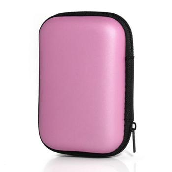 Mini Storage Case For Earphone EVA Headphone Case Container Home, Travel, Business, etc Cable Storage Box
