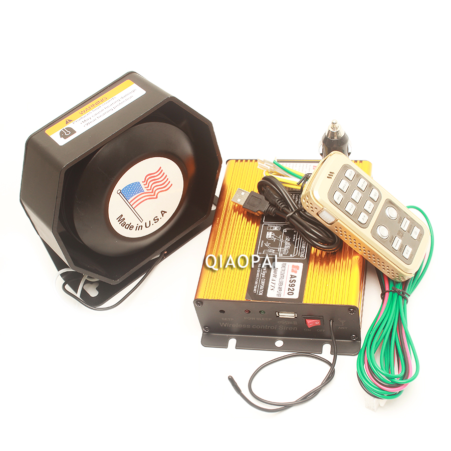 Loud Car Horn 12V Megaphone Alarm System Police Siren Electric Speaker 12 Warning for Train Auto VW Bora HY Toyota Ford Wireless in Multi tone Claxon Horns from Automobiles Motorcycles