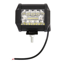 60W 4INCH 20LED Waterproof IP67 Work Light LED Bars Spot Flood Beam for Driving Offroad Boat Car Tractor Truck