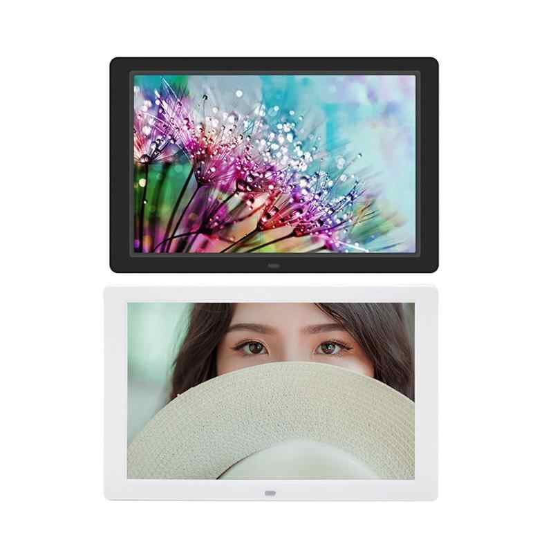 12.1 Inch Digital Photo Frame HD 1280x800 LED Back-light Electronic Album Picture Music Video Player With EU Plug New Arrival