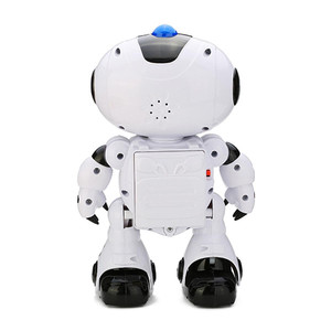 Image 3 - LEORY New Electric Intelligent Robot Remote Controlled RC Play Music Dancing Light Robot for Children Gift