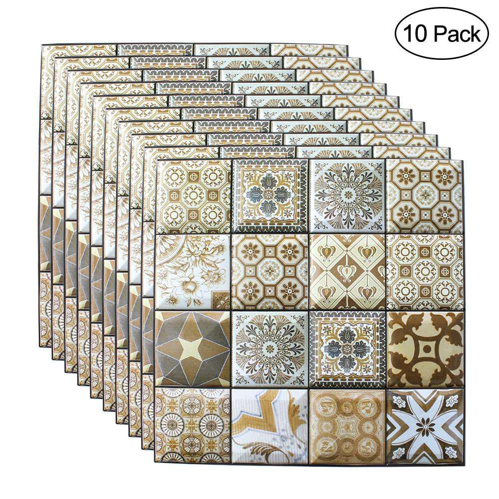 Auto-adesivo 3d tijolo adesivos de parede 10 pçs 30*30 cm papel de parede sala de estar restaurante decoração impermeável papel de parede cobrindo