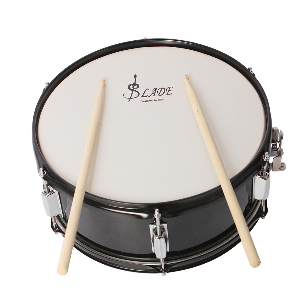 Professional Snare Drum Head 14 Inch with Drumstick Drum Key Strap for Student Band High Quality